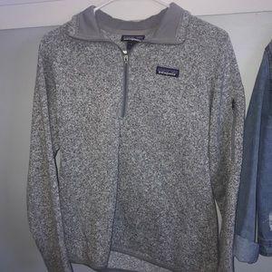 Grey Patagonia half zip